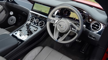 Bentley Continental GT V8 - dash