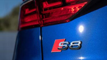 Audi S8 - S8 badge