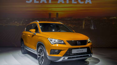 SEAT Ateca SUV 2016 - show reveal