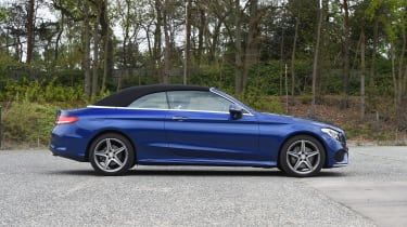 Mercedes C-Class Cabriolet - roof closed