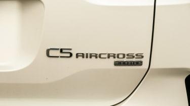 Citroen C5 Aircross - rear badge