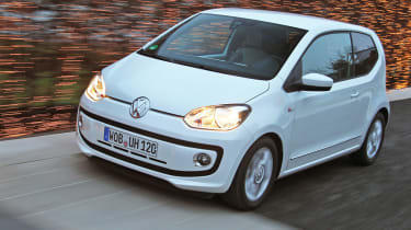 Volkswagen up! GT front tracking