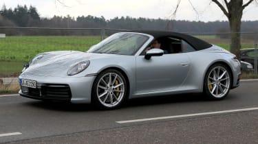 New Porsche 911 Cabriolet - spyshot 3