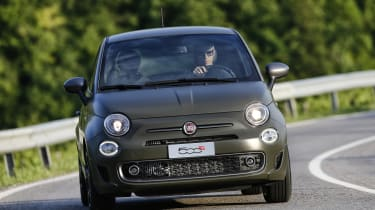 Fiat 500S 2016 - front