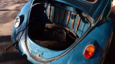 Classic car boot