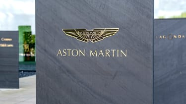 Aston Martin St Athan factory - badge
