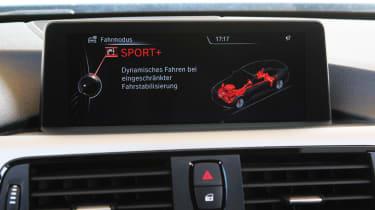 BMW 435i dash