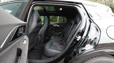 Infiniti Q30 Sport AWD 2016 - rear seats