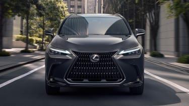 Lexus NX - full front action