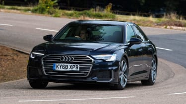 Audi A6 - front cornering