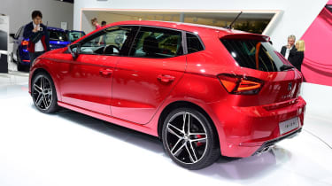 New SEAT Ibiza Geneva show - rear