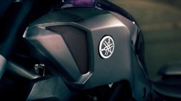 Yamaha MT-07 review - Yamaha badge