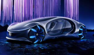 Mercedes Vision AVTR concept - front