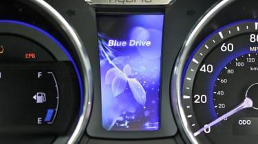 Hyundai Sonata Hybrid dash