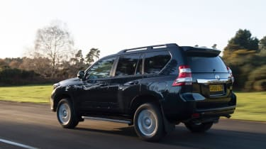 New Toyota Land Cruiser 2016 rear