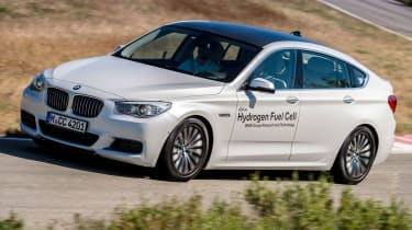BMW 5 Series GT Hydrogen Fuel Cell - driving