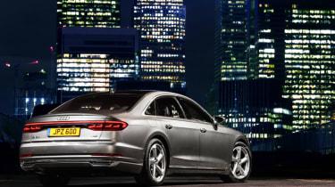 Audi A8 - rear static night
