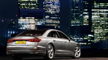 Audi A8 - rear static night