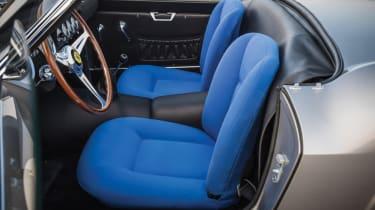 Ferrari 250 GT LWB California Spider Competizione - driver's seat