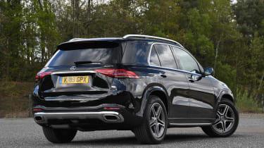 Mercedes GLE - rear static