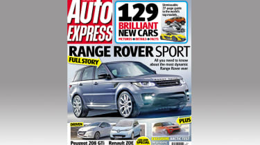 This week's issue of Auto Express