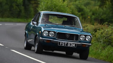 Mazda RX-3 - front action