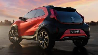 Toyota Aygo X prototype - rear static