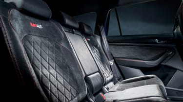 Skoda Kodiaq vRS - rear seats