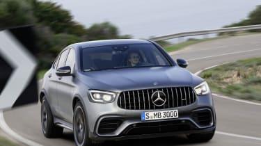 Mercedes-AMG GLC 63 S - cornering