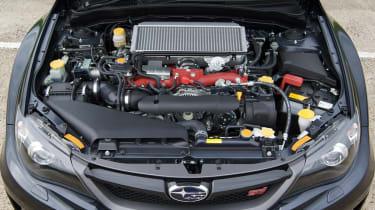 Subaru WRX STi saloon engine