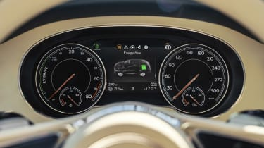 Bentley Bentayga PHEV - dials