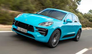 Porsche Macan - front