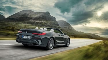 BMW 8 Series Convertible - rear tracking