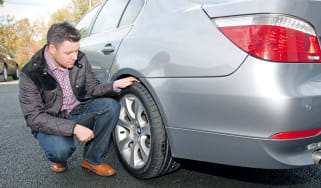 Driver foots the bill after tyres mix-up
