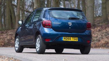 Dacia Sandero - rear cornering