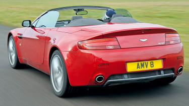 On the road, Vantage Roadster delivers lots of pace and real thrills