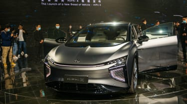 The E-HS9 is a new premium SUV from Hongqi