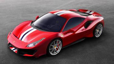 New Ferrari 488 Pista - above