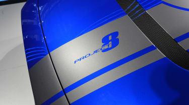 Jaguar XE SV Project 8 - blue Goodwood Project 8