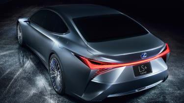 Lexus LS+ Concept - rear