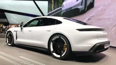 Porsche Taycan - Frankfurt rear