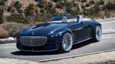 Vision Mercedes-Maybach 6 Cabriolet - front static