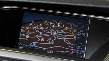 Audi A5 2.0 TFSI Coupe sat-nav