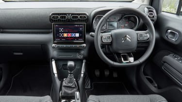Citroen C3 Aircross facelift - dash