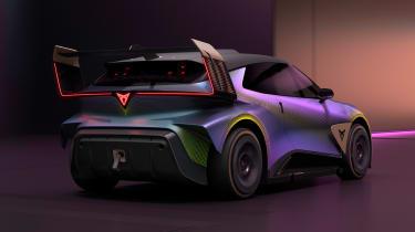 Cupra UrbanRebel concept - rear action