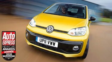 Available as a three- or five-door model, the Volkswagen up! is a brilliant city car with a mature, grown-up character.
