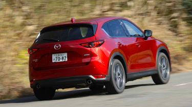 New Mazda CX-5 - rear action