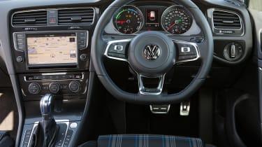 VW Golf GTE hybrid interior