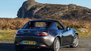 Mazda MX-5 RF 2017 1.5 UK - rear quarter