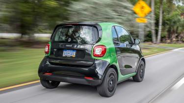 Smart ForTwo EV - rear